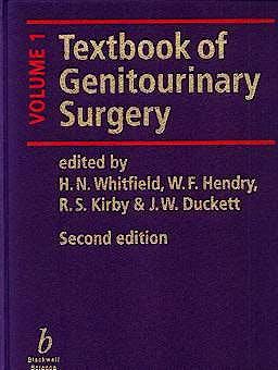 Portada del libro 9780632037742 Textbook of Genitourinary Surgery 2 vols.***solo El Volumen 1º***