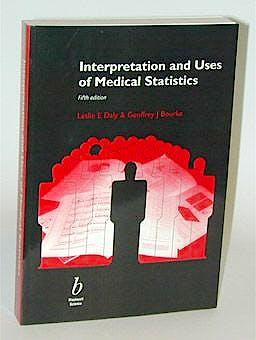 Portada del libro 9780632047635 Interpretation and Uses of Medical Statistics