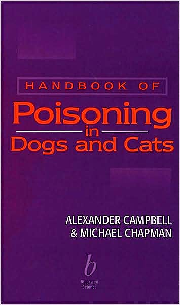Portada del libro 9780632050291 Handbook of Poisoning in Dogs and Cats