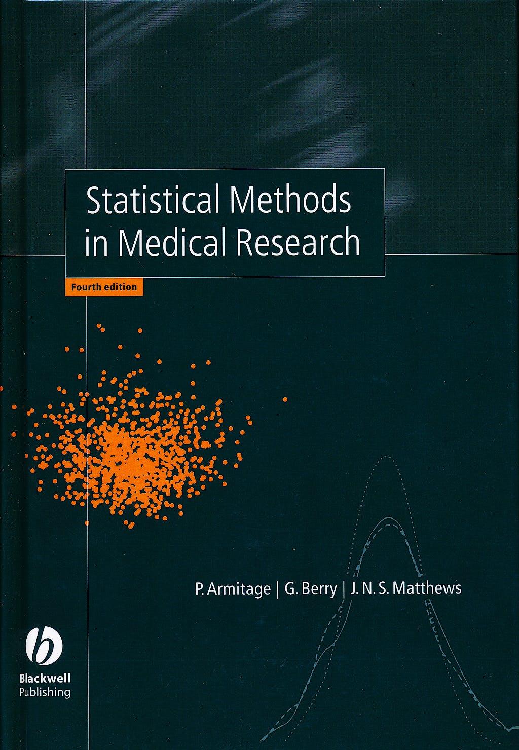 Portada del libro 9780632052578 Statistical Methods in Medical Research