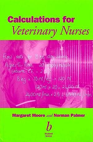 Portada del libro 9780632054985 Calculations for Veterinary Nurses