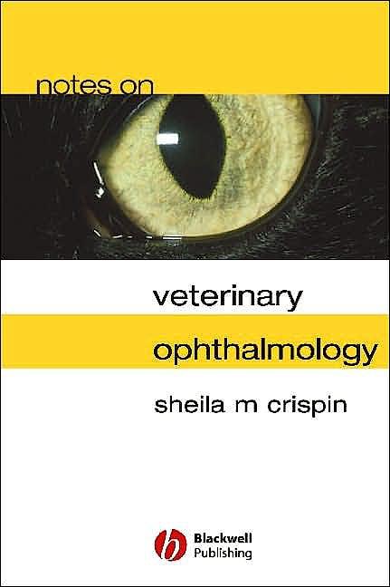 Portada del libro 9780632064168 Notes on Veterinary Ophthalmology