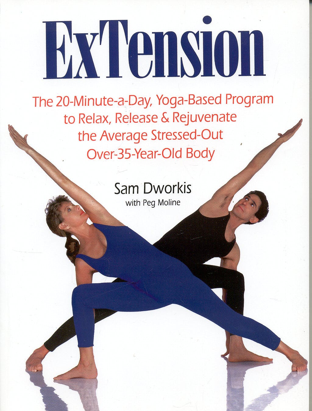Portada del libro 9780671866808 Extension: The 20-Minute-a-Day, Yoga-Based Program to Relax