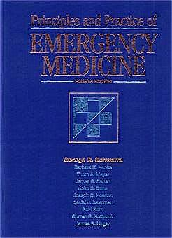 Portada del libro 9780683076462 Principles and Practice of Emergency Medicine