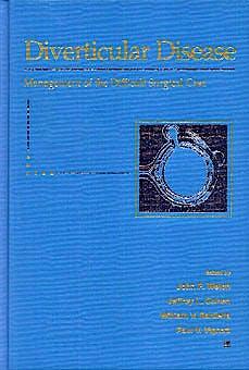 Portada del libro 9780683088816 Diverticular Disease