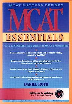 Portada del libro 9780683301052 MCAT Essentials