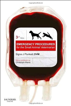 Portada del libro 9780702027680 Emergency Procedures for the Small Animal Veterinarian