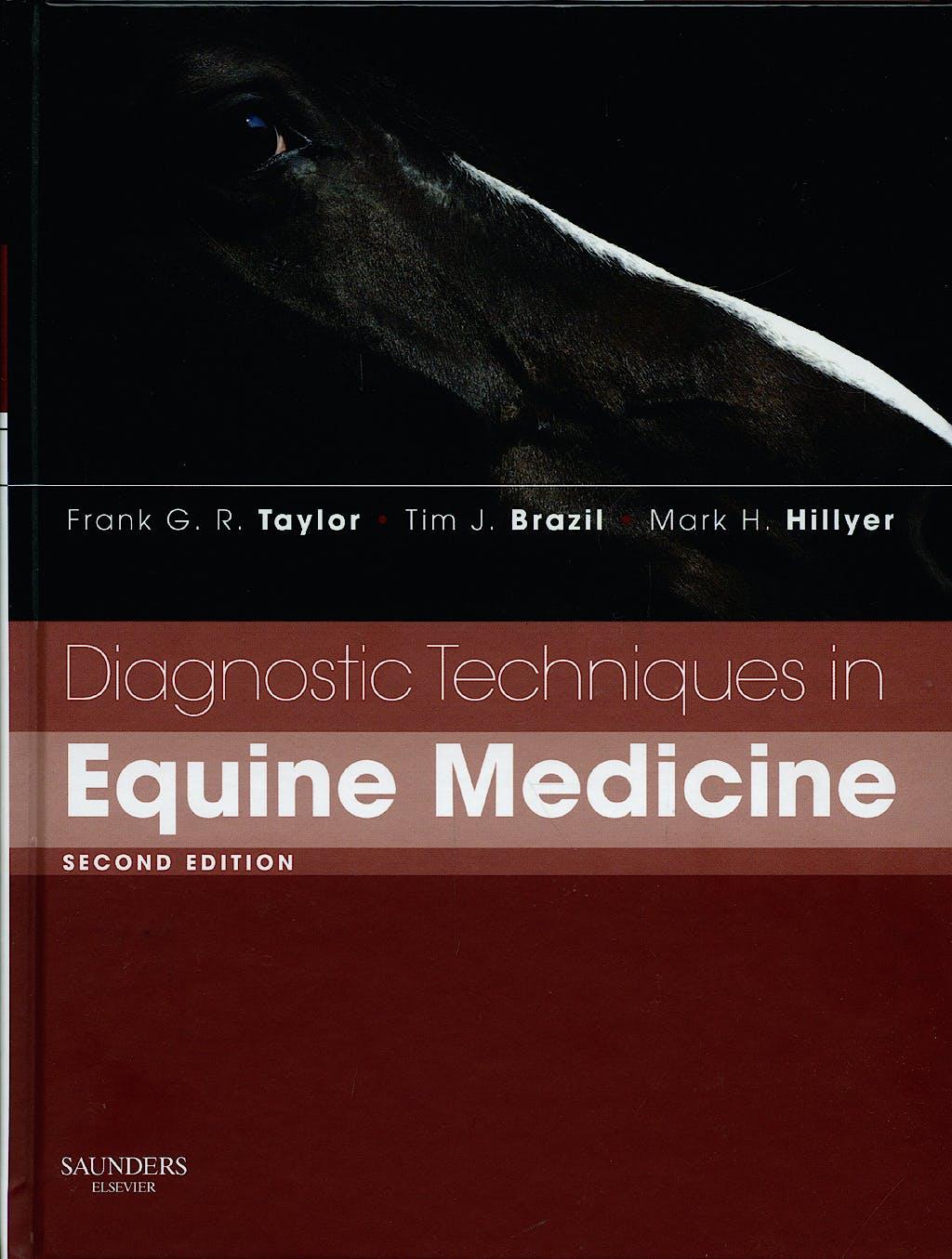 Portada del libro 9780702027925 Diagnostic Techniques in Equine Medicine