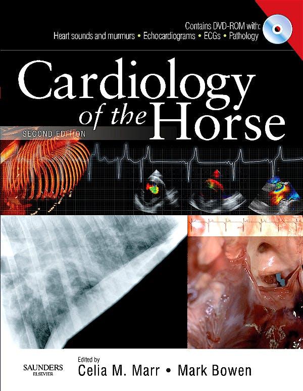 Portada del libro 9780702028175 Cardiology of the Horse + Dvd
