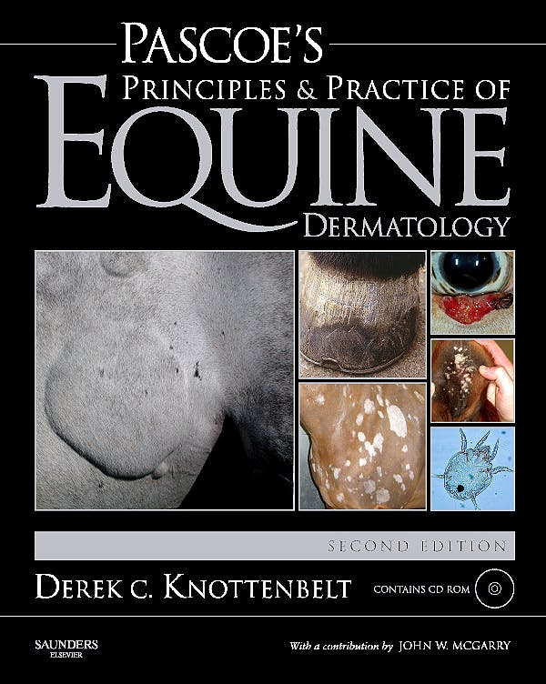 Portada del libro 9780702028816 Pascoe's Principles and Practice of Equine Dermatology + Cd-Rom