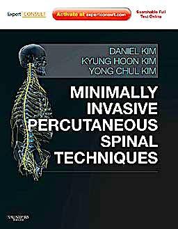 Portada del libro 9780702029134 Minimally Invasive Percutaneous Spinal Techniques (Online and Print) + Dvd