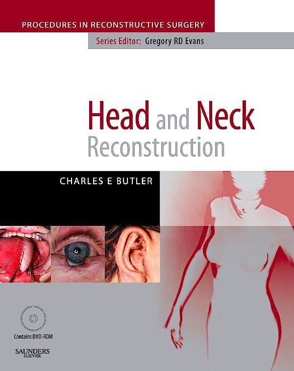 Portada del libro 9780702029264 Head and Neck Reconstruction + Dvd