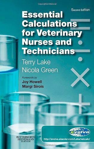Portada del libro 9780702029301 Essential Calculations for Veterinary Nurses and Technicians