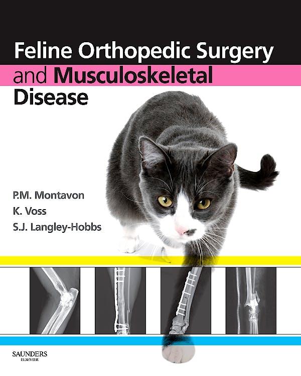 Portada del libro 9780702029868 Feline Orthopedic Surgery and Musculoskeletal Disease
