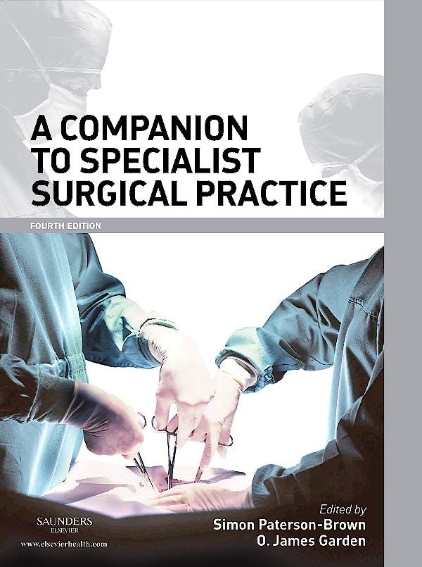 Portada del libro 9780702030192 Companion to Specialist Surgical Practice Package 8-Volume Set