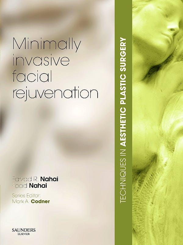 Portada del libro 9780702030888 Minimally Invasive Facial Rejuvenation + Dvd. Techniques in Aesthetic Plastic Surgery
