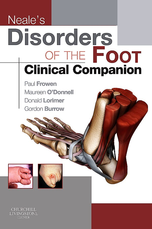Portada del libro 9780702031717 Neale's Disorders of the Foot. Clinical Companion