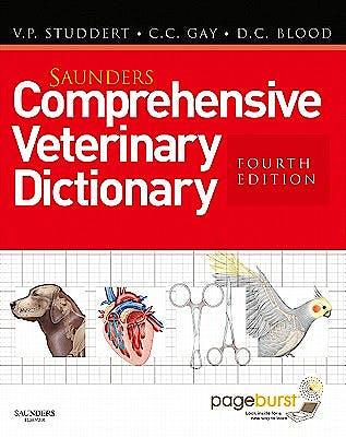 Portada del libro 9780702032318 Saunders Comprehensive Veterinary Dictionary (Includes Ebook Access)