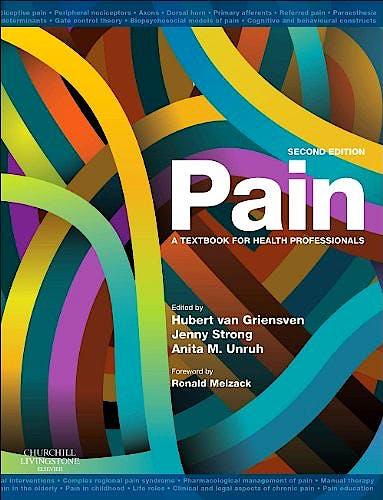 Portada del libro 9780702034787 Pain. a Textbook for Health Professionals