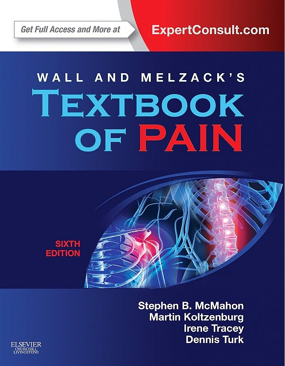Portada del libro 9780702040597 Wall and Melzack's Textbook of Pain (Online and Print)