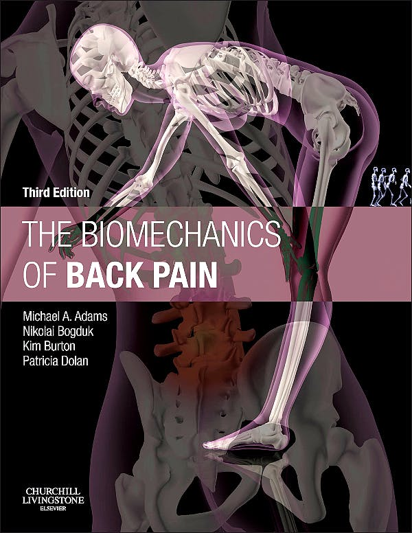 Portada del libro 9780702043130 The Biomechanics of Back Pain