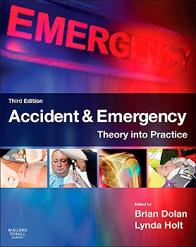 Portada del libro 9780702043154 Accident and Emergency. Theory into Practice
