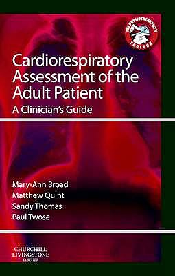 Portada del libro 9780702043451 Cardiorespiratory Assessment of the Adult Patient. a Clinician's Guide