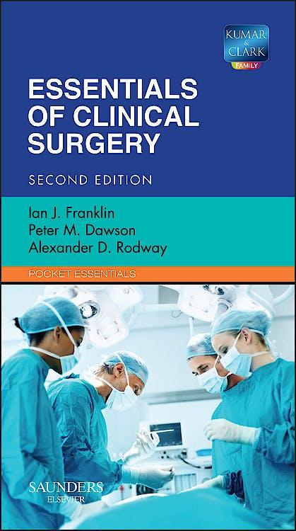 Portada del libro 9780702043628 Essentials of Clinical Surgery