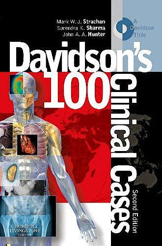 Portada del libro 9780702044595 Davidson's 100 Clinical Cases