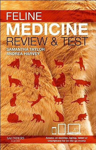 Portada del libro 9780702045875 Feline Medicine. Review and Test