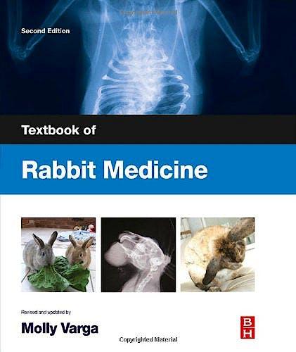 Portada del libro 9780702049798 Textbook of Rabbit Medicine