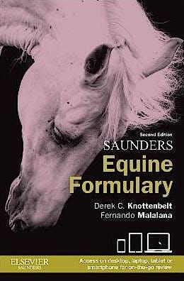 Portada del libro 9780702051098 Saunders Equine Formulary