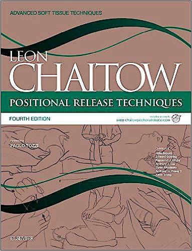 Portada del libro 9780702051111 Positional Release Techniques