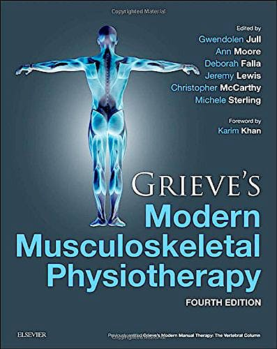 Portada del libro 9780702051524 Grieve's Modern Musculoskeletal Physiotherapy