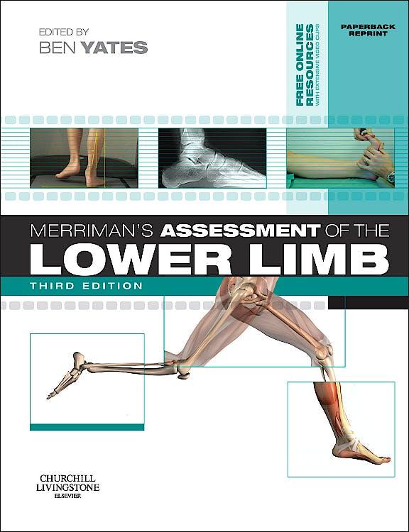 Portada del libro 9780702052477 Merriman's Assessment of the Lower Limb + DVD