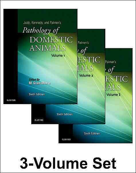 Portada del libro 9780702053221 Jubb, Kennedy and Palmer's Pathology of Domestic Animals, 3 Vols.