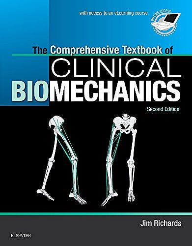 Portada del libro 9780702054891 The Comprehensive Textbook of Biomechanics (with Access to E-Learning Course)
