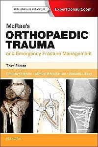 Portada del libro 9780702057281 McRae's Orthopaedic Trauma and Emergency Fracture Management (Online and Print)
