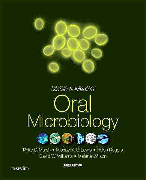 Portada del libro 9780702061066 Marsh and Martin's Oral Microbiology