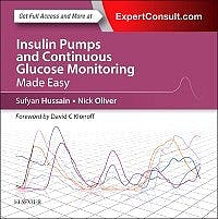 Portada del libro 9780702061240 Insulin Pumps and Continuous Glucose Monitoring Made Easy (Online and Print)