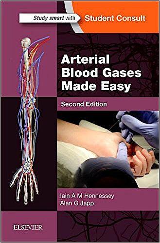 Portada del libro 9780702061905 Arterial Blood Gases Made Easy