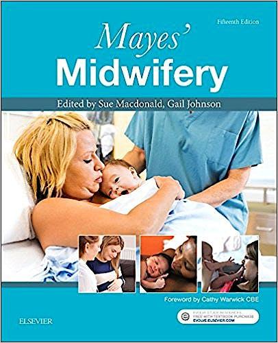 Portada del libro 9780702062117 Mayes' Midwifery