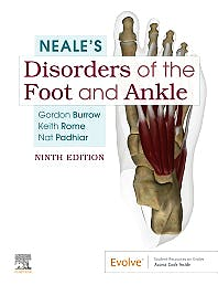 Portada del libro 9780702062230 NEALE's Disorders of the Foot and Ankle + Online Access