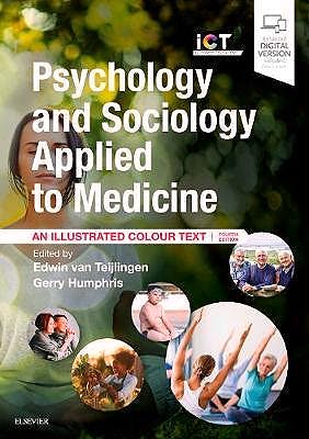 Portada del libro 9780702062988 Psychology and Sociology Applied to Medicine. An Illustrated Colour Text (Print + Online)