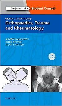 Portada del libro 9780702063183 Churchill's Pocketbook of Orthopaedics, Trauma and Rheumatology + Online Access