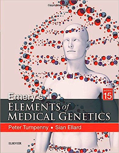 Portada del libro 9780702066856 Emery's Elements of Medical Genetics
