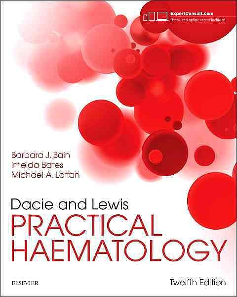 Portada del libro 9780702066962 Dacie and Lewis Practical Haematology (Online and Print)