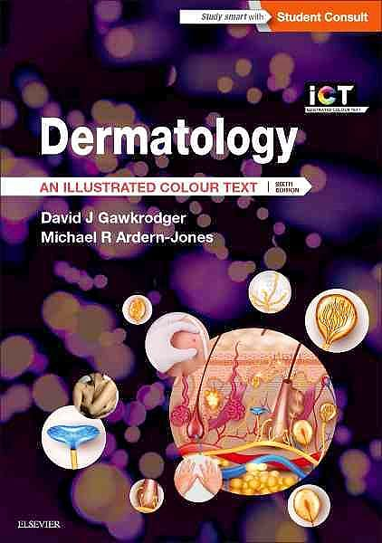 Portada del libro 9780702068492 Dermatology. an Illustrated Colour Text (Online and Print)