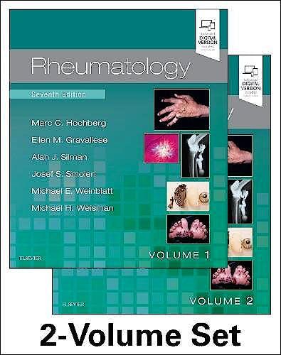 Portada del libro 9780702068652 Rheumatology, 2 Vols. (Print and Online)