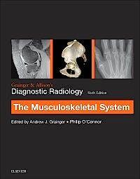Portada del libro 9780702069369 Grainger and Allison's Diagnostic Radiology. Musculoskeletal System